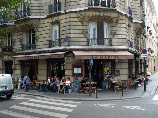 la marine paris canal saint martin restaurant reviews phone number photos tripadvisor. Black Bedroom Furniture Sets. Home Design Ideas