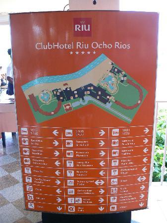 Map of resort  Picture of ClubHotel Riu Ocho Rios Ocho Rios