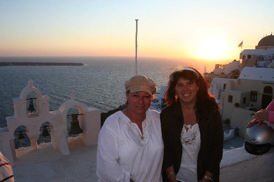 Northeast Aegean Islands, Greece: SUNSET AT IA
