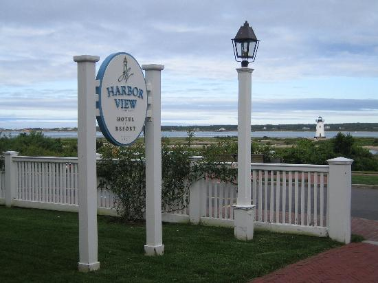 Harbor View Hotel: Great Location