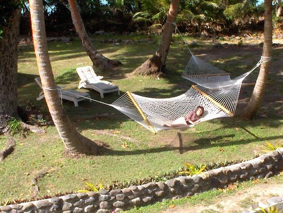 Safari Island Lodge: over the top hammocking- me time