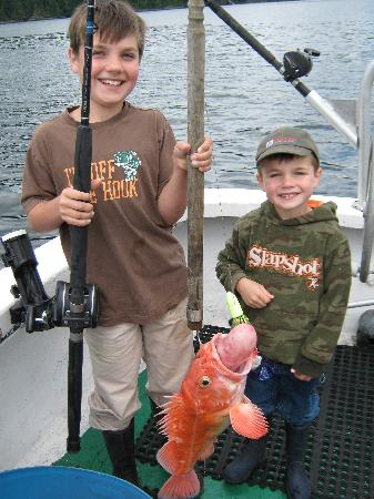 Old Skipper Bed and Breakfast: Yellow Eye Rockfish - Bottom Fishing