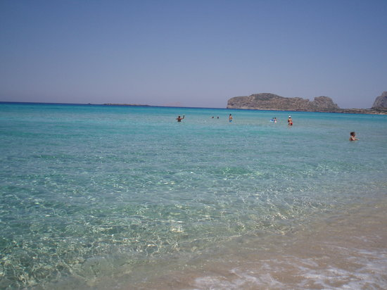 Chania Town, Yunani: Falasarna Beach, West Crete