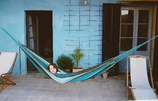 CASA MIGDIA: La terrasse privative de la chambre Carmen