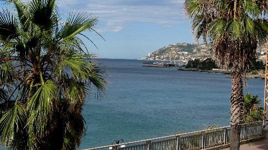 Hotel Villa La Brise: view from our room terrace