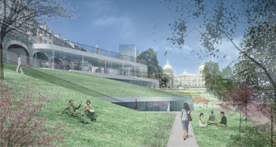 Peacock Visual Arts: Peacock's proposed new Art Centre for Union Terrace Gardens, Aberdeen