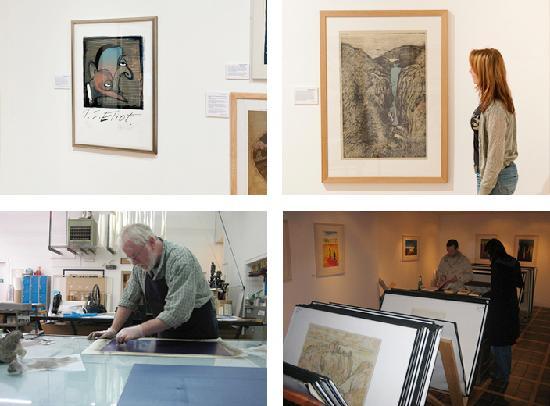 Peacock Visual Arts: original prints and printmaking workshop