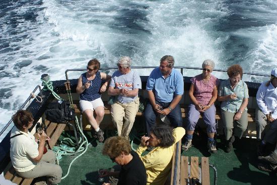 Connemara Safaris: Crossing to Inisboffin