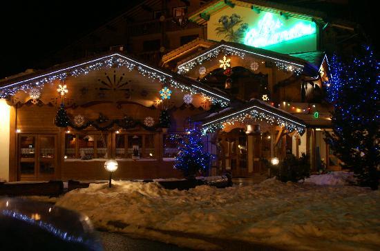 Les Gentianettes Hotel: Les Gentianettes en hiver