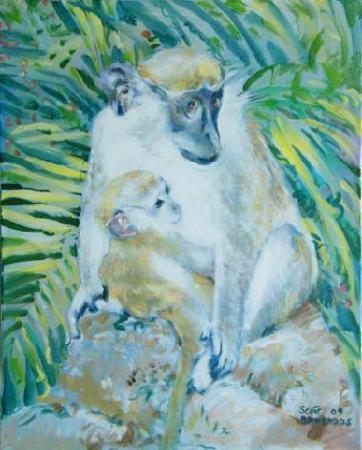 'Monkey' by Heather-Dawn Scott