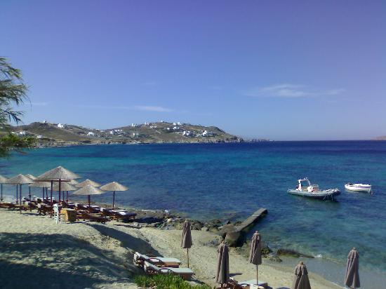 Hippie Chic Hotel Mykonos : vista dalla camera
