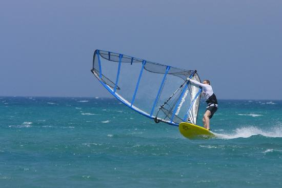 Moonbeach Resort: Moon Beach Windsurfing