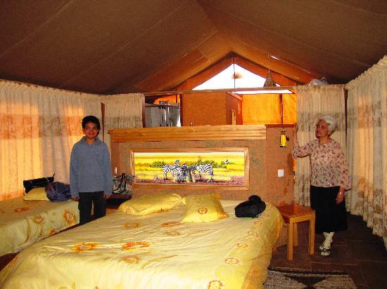 Sentrim Amboseli: the tent