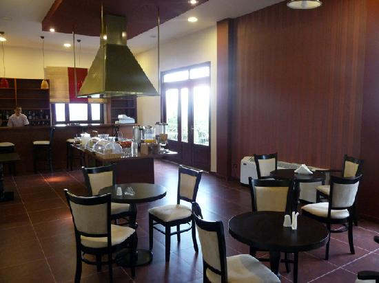 Byzantion Hotel : Dining area, where breakfast was served