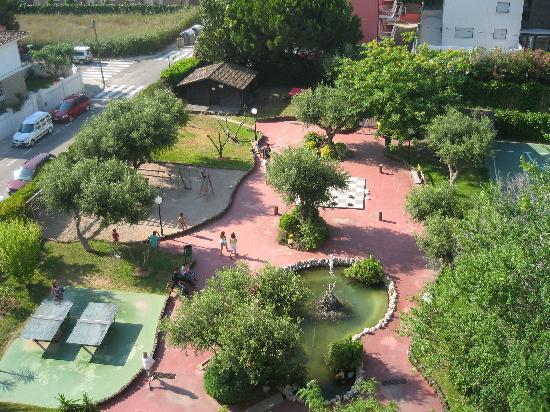 Sant Salvador, España: vistas del hotel desde la habitacion