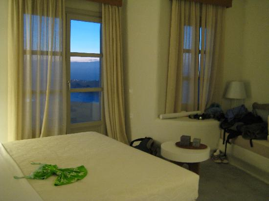 Avaton Resort : deluxe double room with sea view
