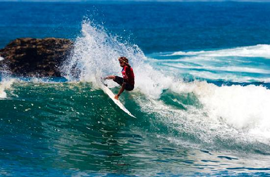 Salinas, Ecuador: Surfers