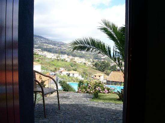 Quinta das Vinhas: vue depuis kitchinette