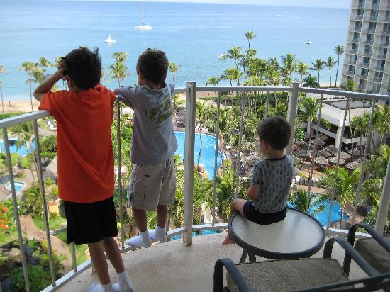 The Westin Maui Resort & Spa: Ocean Tower Suite w/3 balconies Rm1121
