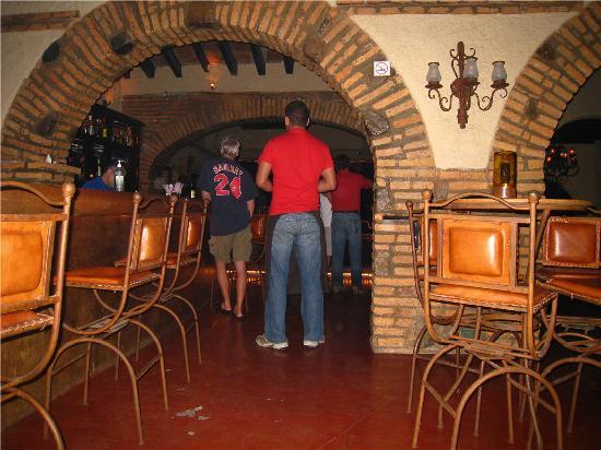 Los Balcones : Nice view.  Carlos was our waiter.