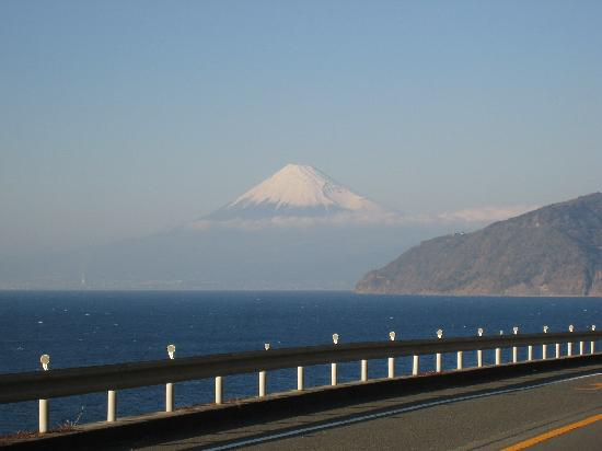 East coast road for going to Shimoda