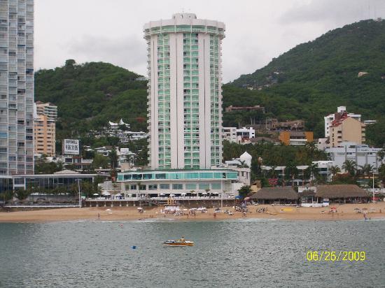 Calinda Beach Acapulco Por La Bahia En El Acarey