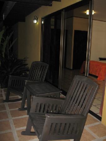 Arenal Manoa Hotel: la teraza