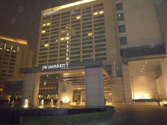 โรงแรมเจดับเบิ้ลยู แมริออท ปักกิ่ง: Hotel exterior shot