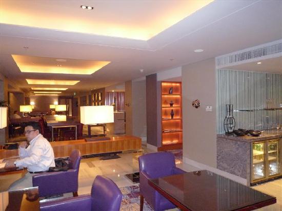 โรงแรมเจดับเบิ้ลยู แมริออท ปักกิ่ง: Executive lounge