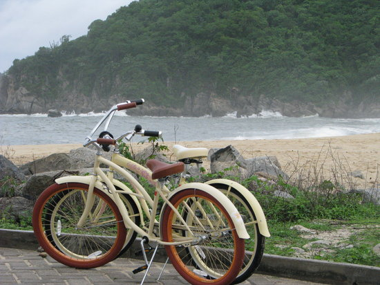 Santa Cruz Huatulco, Meksika: A perfect place to ride a bike
