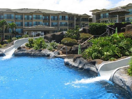 Waipouli Beach Resort The Pool At