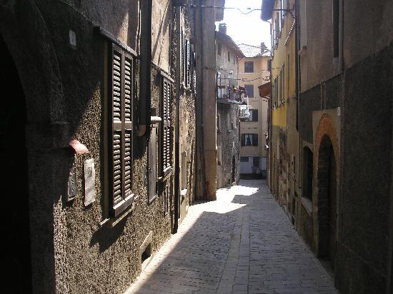 A Street in Gravedona