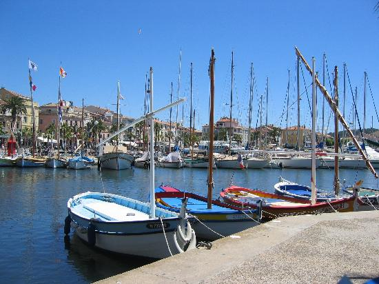 Sanary-sur-Mer, Frankrike: View of the Harbour