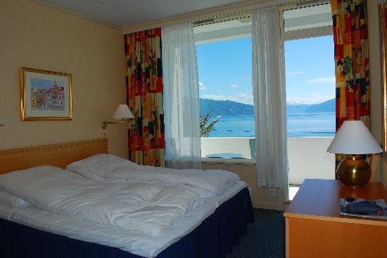 Balestrand Hotel: Zimmer mit Aussicht