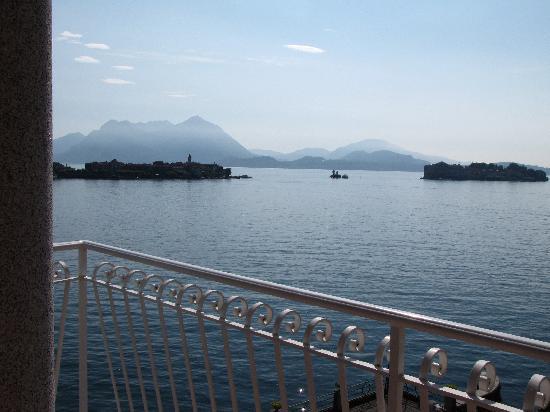 Hotel Romagna: Blick vom Balkon zu den Inseln