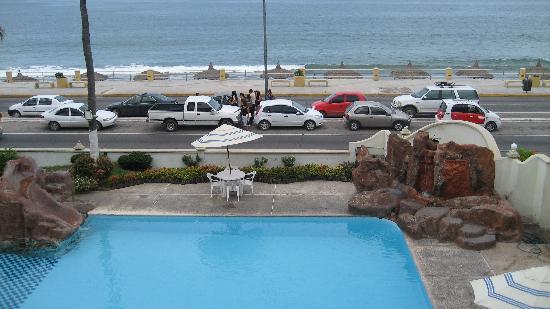 Aguamarina Hotel: la alberca