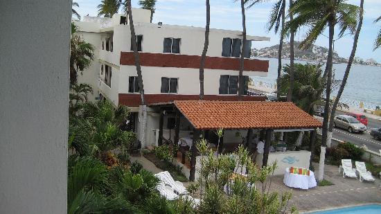 Aguamarina Hotel: hotelizquierda