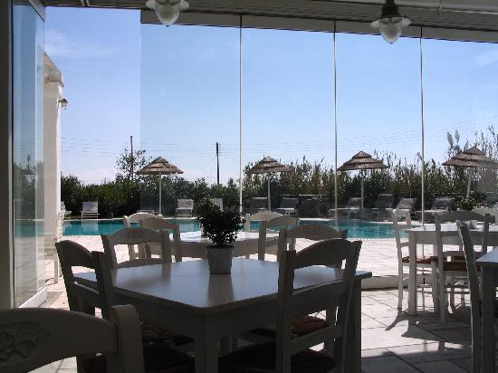 Anthea Hotel: Restaurant view