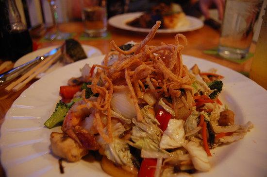 Plantation Gardens Restaurant : Island Stir Fry