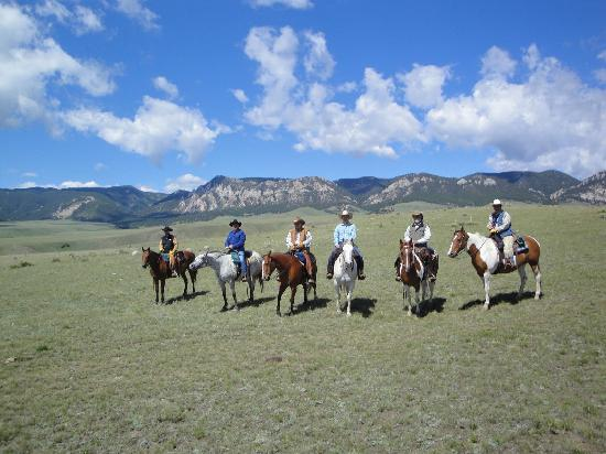 Klondike Ranch: Our humble gang.