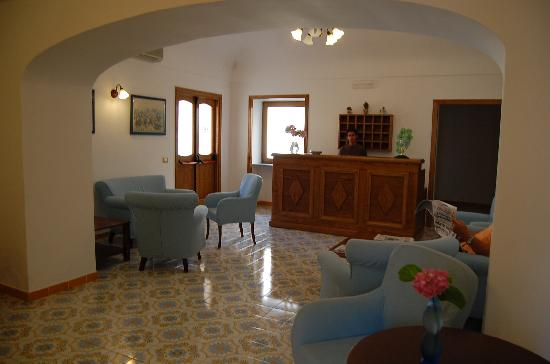 Hotel Da Raffaele: reception