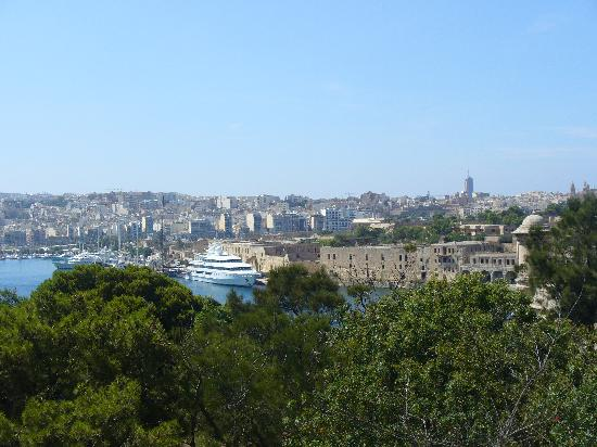 The Phoenicia Malta: View from the gardens