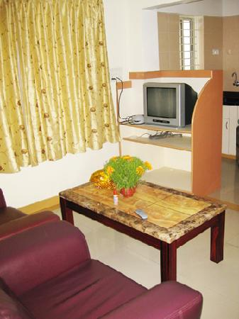 Manjunatha Residency: Tv Room