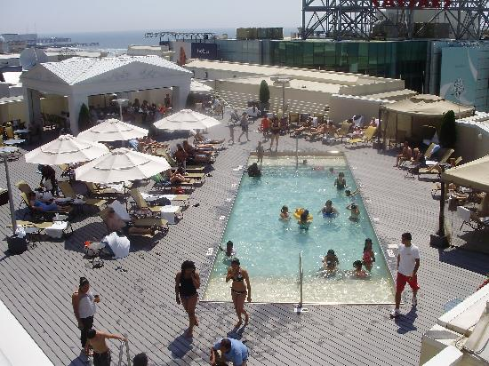 pool picture of caesars atlantic city atlantic city