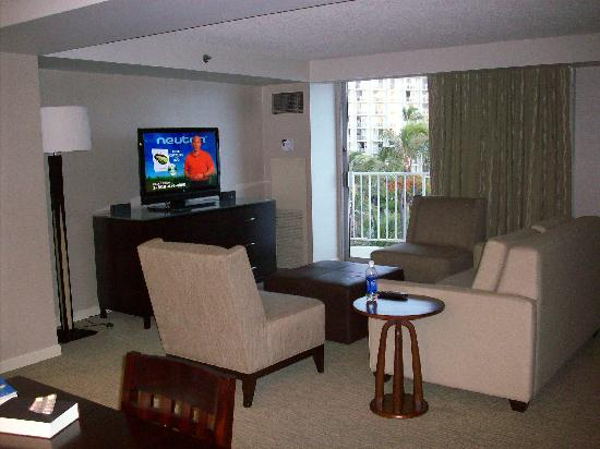 """The Westin Maui Resort & Spa: Suite View """"Living Area"""""""
