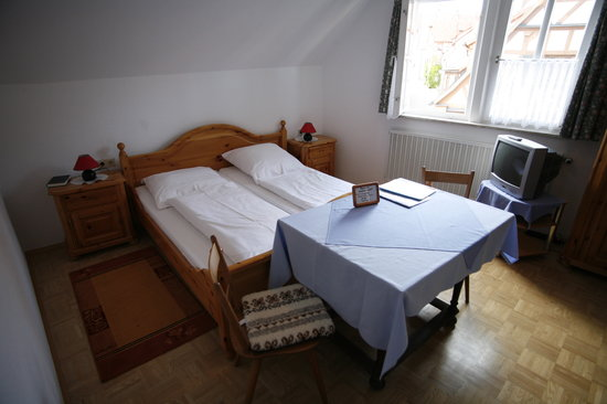 Pension Elke: part of our room