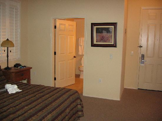 Wyndham Green Valley Canoa Ranch Resort: Bed and bath