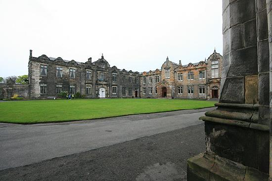 University of St Andrews: The main Quad area of the university