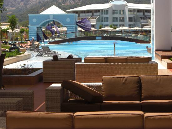 Hilton Dalaman Sarigerme Resort & Spa: Poolview