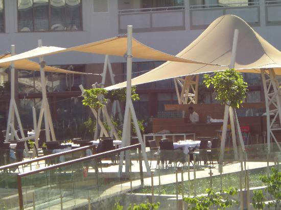 منتجع وسبا هيلتون دالامان ساريجيرم: Hauptrestaurant Outdoor